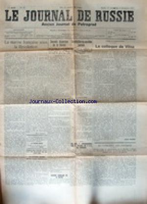 JOURNAL  DE RUSSIE (LE) no:42 21/11/1917