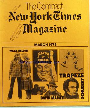 COMPACT NEW YORK TIMES MAGAZINE (THE) no: 01/03/1978