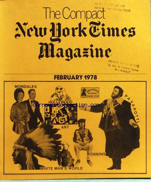COMPACT NEW YORK TIMES MAGAZINE (THE) no: 01/02/1978