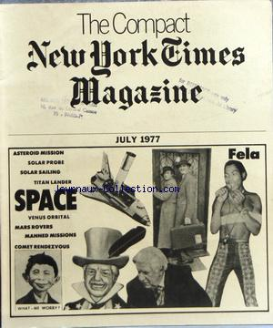COMPACT NEW YORK TIMES MAGAZINE (THE) no: 01/07/1977