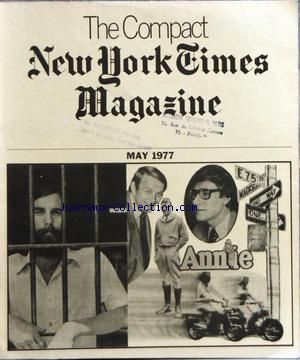 COMPACT NEW YORK TIMES MAGAZINE (THE) no: 01/05/1977
