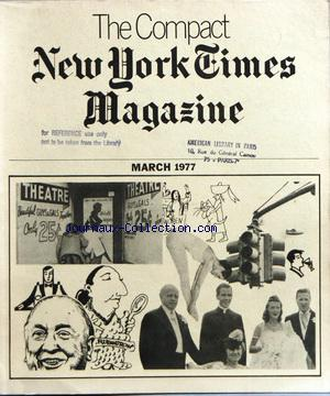 COMPACT NEW YORK TIMES MAGAZINE (THE) no: 01/03/1977
