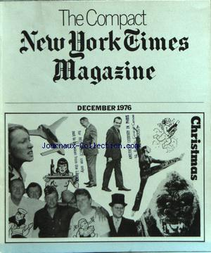 COMPACT NEW YORK TIMES MAGAZINE (THE) no: 01/12/1976
