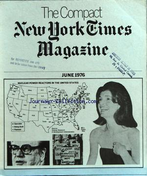 COMPACT NEW YORK TIMES MAGAZINE (THE) no: 01/06/1976
