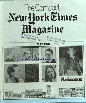 COMPACT NEW YORK TIMES MAGAZINE (THE) no: 01/05/1976
