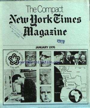 COMPACT NEW YORK TIMES MAGAZINE (THE) no: 01/01/1976