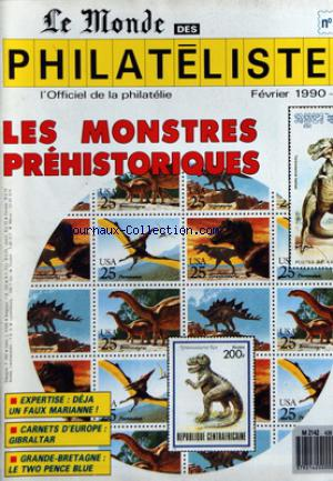 MONDE DES PHILATELISTES (LE) no:438 01/02/1990