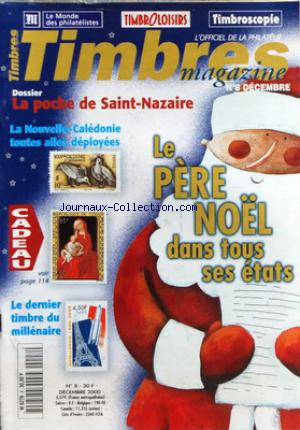 TIMBRES MAGAZINE no:8 01/12/2000