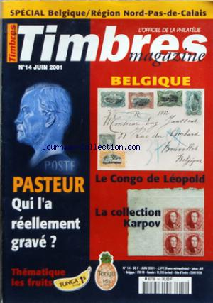TIMBRES MAGAZINE no:14 01/06/2001