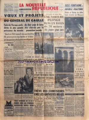 NOUVELLE REPUBLIQUE (LA) no:4957 02/01/1961