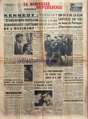 NOUVELLE REPUBLIQUE (LA) no:5081 31/05/1961
