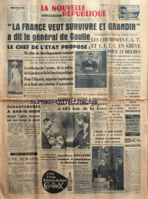 NOUVELLE REPUBLIQUE (LA) no:5064 09/05/1961