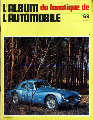 ALBUM DU FANATIQUE DE L'AUTOMOBILE (L') no:69 01/05/1974