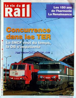 VIE DU RAIL (LA) no:3315 15/06/2011