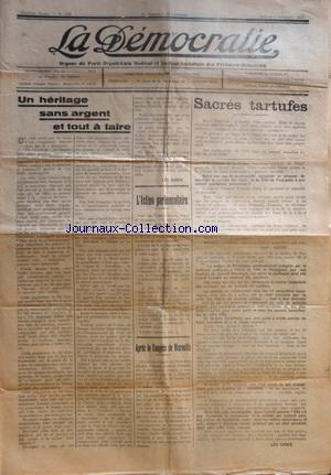 DEMOCRATIE (LA) no: 05/11/1938