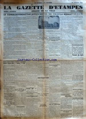 GAZETTE D'ETAMPES (LA) no:2 20/07/1940