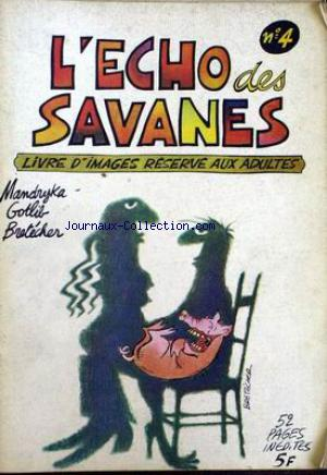 ECHO DES SAVANES (L') no:4 01/07/1973