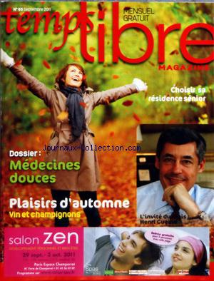 TEMPS LIBRE MAGAZINE no:65 01/09/2011
