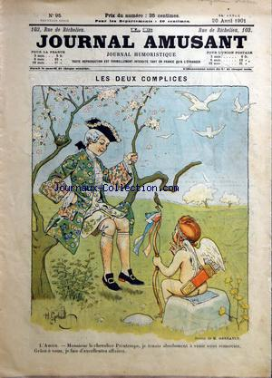 JOURNAL AMUSANT (LE) no:95 20/04/1901