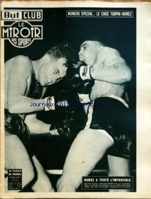 MIROIR DES SPORTS (LE) no:HS 10/06/1953