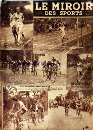 MIROIR DES SPORTS (LE) no:458 31/07/1950