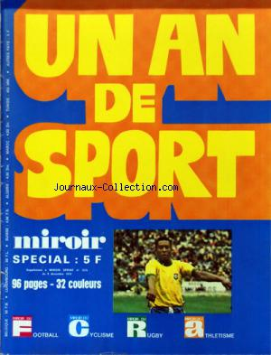 MIROIR SPRINT no:1275 BIS 08/12/1970