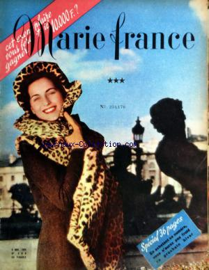 MARIE FRANCE no: 09/11/1943
