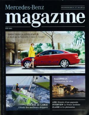 MERCEDES BENZ MAGAZINE no: 01/07/2011