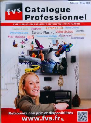 FVS CATALOGUE PROFESSIONNEL no: 01/10/2010