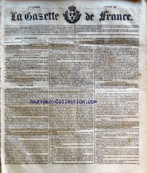 GAZETTE DE FRANCE (LA) no:192 13/07/1830