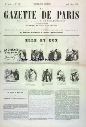 GAZETTE DE PARIS (LA) no:174 04/08/1859