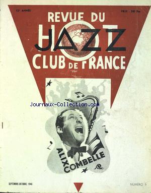REVUE DU HOT JAZZ CLUB DE FRANCE no:9 01/09/1946