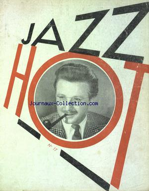 REVUE DU HOT JAZZ CLUB DE FRANCE no:17 01/11/1947