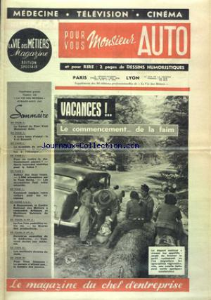 MONSIEUR AUTO no:142 01/07/1957