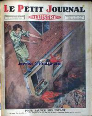 PETIT JOURNAL SUPPLEMENT ILLUSTRE (LE) no:2074 21/09/1930