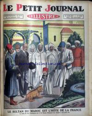 PETIT JOURNAL SUPPLEMENT ILLUSTRE (LE) no:2121 16/08/1931