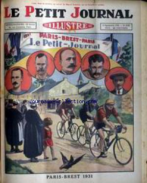 PETIT JOURNAL SUPPLEMENT ILLUSTRE (LE) no:2124 06/09/1931