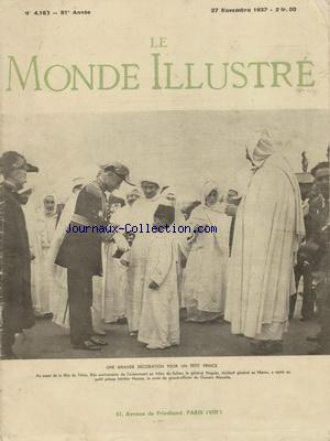 MONDE ILLUSTRE (LE) no:4163 27/11/1937