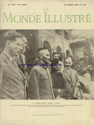 MONDE ILLUSTRE (LE) no:4163 23/10/1937