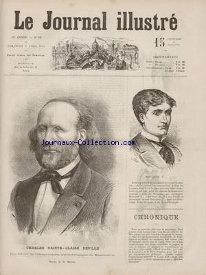 JOURNAL ILLUSTRE (LE) no:16 19/04/1874