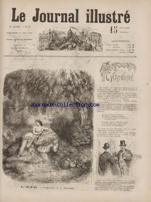 JOURNAL ILLUSTRE (LE) no:25 21/06/1874