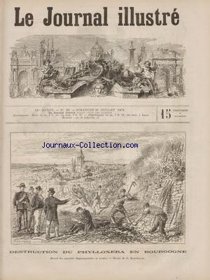 JOURNAL ILLUSTRE (LE) no:29 19/07/1874