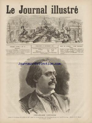 JOURNAL ILLUSTRE (LE) no:51 20/12/1874