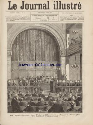 JOURNAL ILLUSTRE (LE) no:33 17/08/1879