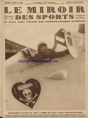 MIROIR DES SPORTS (LE) no:369 10/05/1927