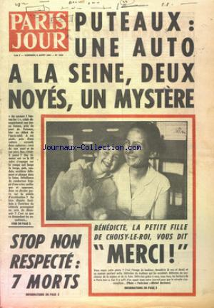 PARIS JOUR no:1833 06/08/1965