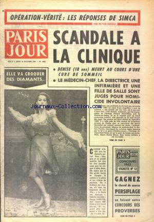 PARIS JOUR no:1892 14/10/1965