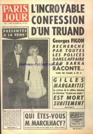 PARIS JOUR no:1913 08/11/1965