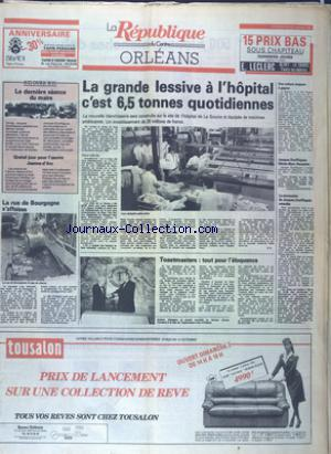 REPUBLIQUE DU CENTRE  ORLEANS (LA) no:12706 30/09/1988