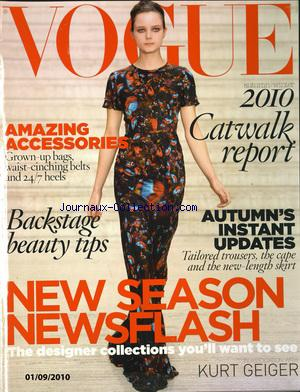 VOGUE USA no: 01/09/2012